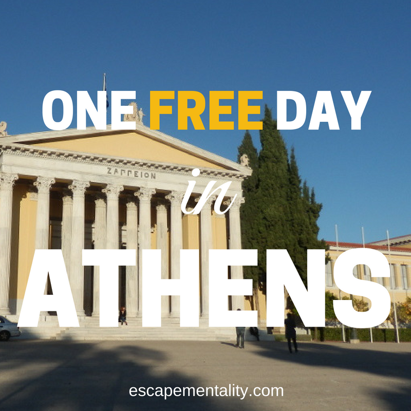 One free day in Athens