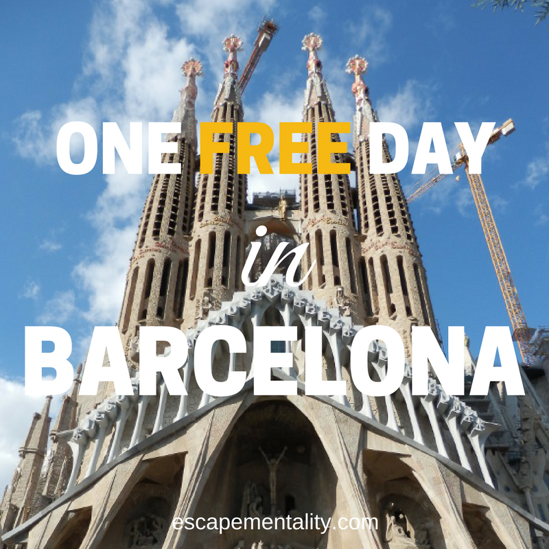 One free day in Barcelona