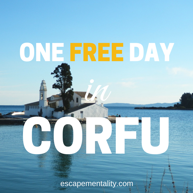One free day in Corfu