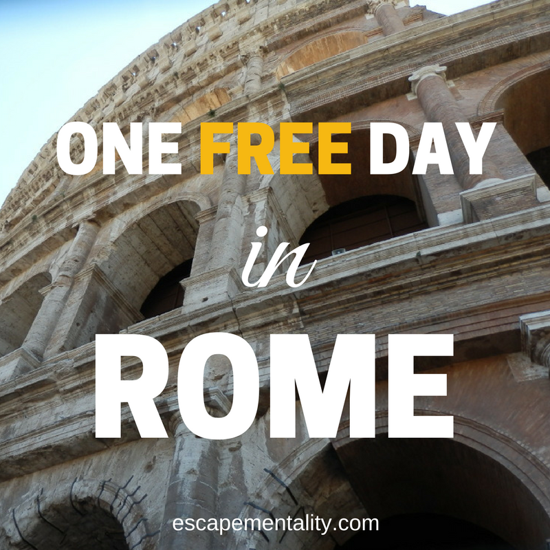 One free day in Rome