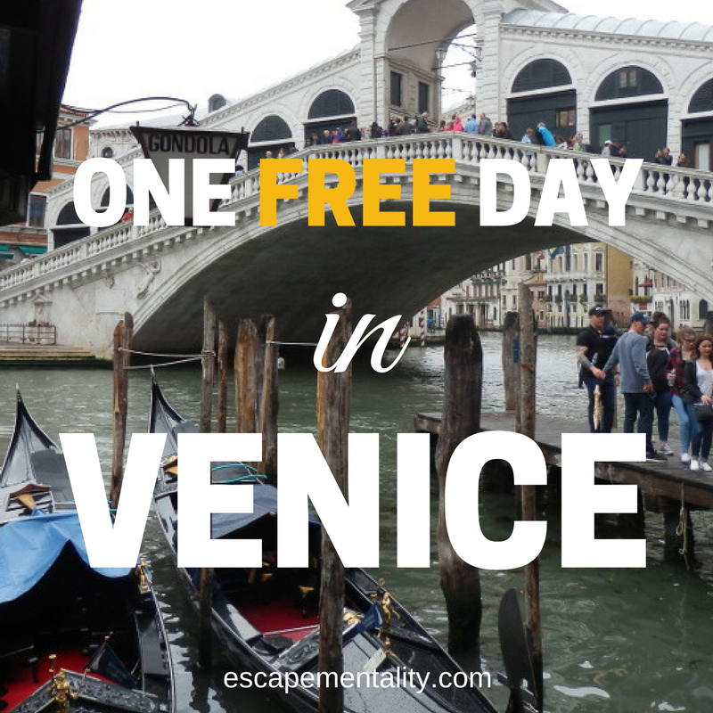 One free day in Venice