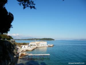 Corfu Town seaside